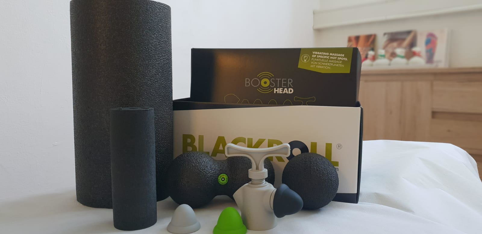 Blackroll im Massagefachinstitut Linsbod